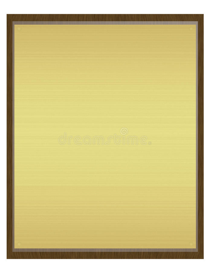 3d представляют металлической пластинкы бесплатная иллюстрация