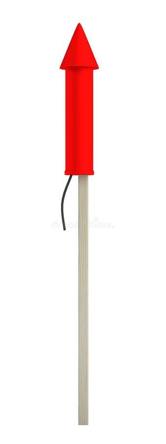 3d представляют ракеты бесплатная иллюстрация