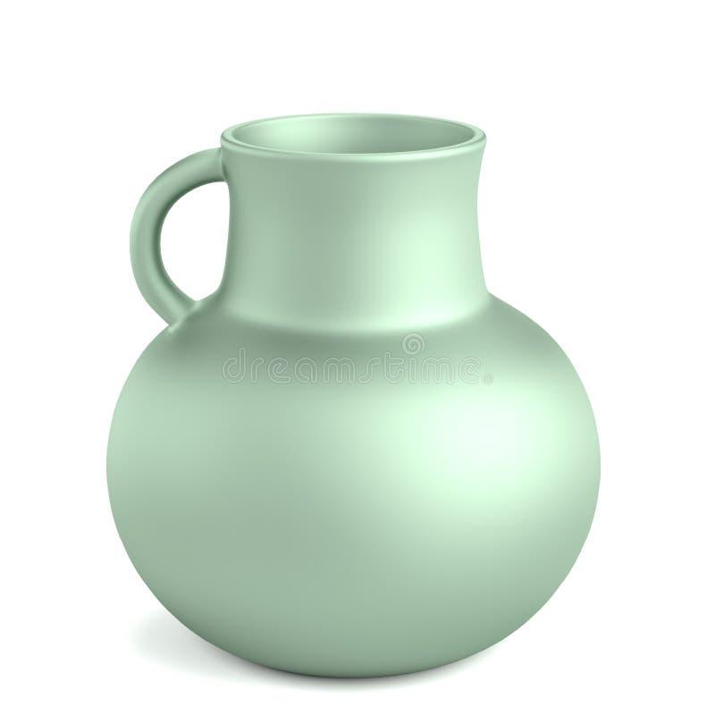 3d представляют старой вазы иллюстрация штока