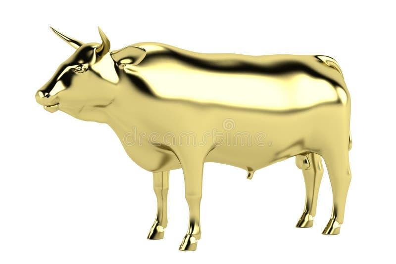 3d представляют статуи быка бесплатная иллюстрация