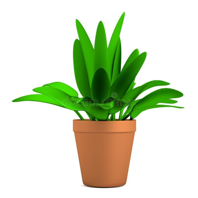 3d представляют цветка иллюстрация штока