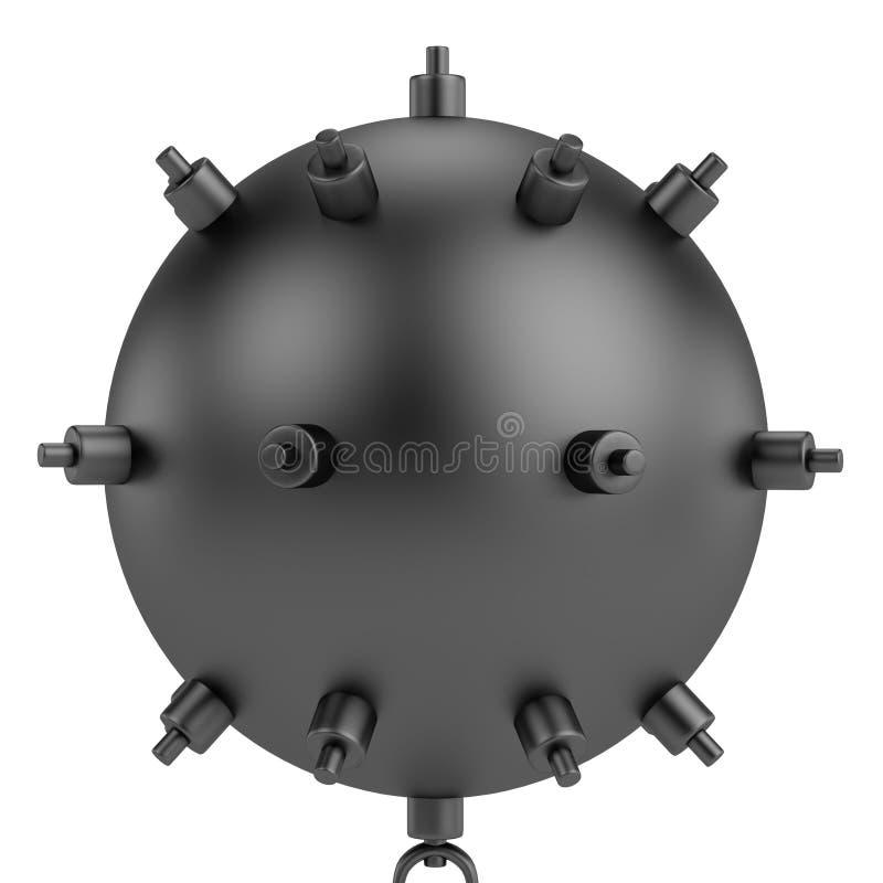 3d представляют шахты воды бесплатная иллюстрация