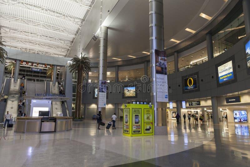 D стробирует район авиапорта McCarran в Лас-Вегас, NV 1-ого июля стоковые фотографии rf