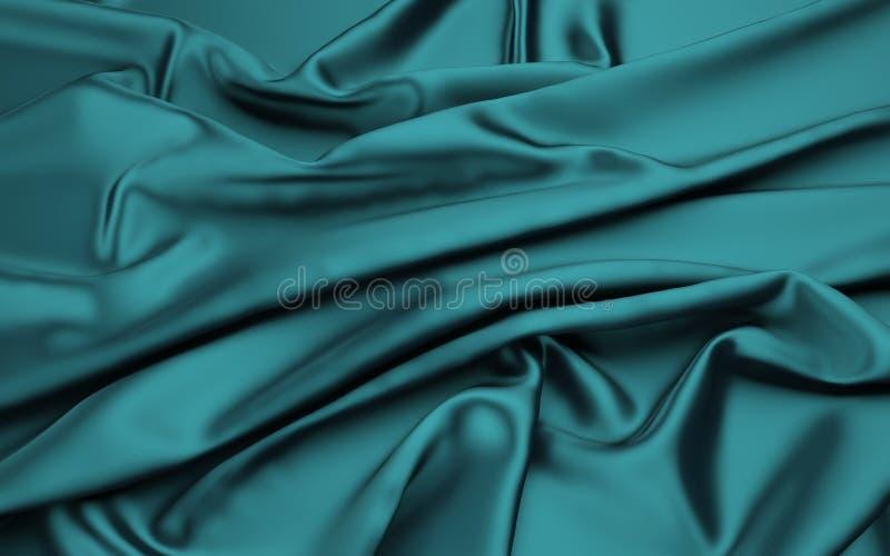 3d ткань, абстрактная предпосылка ткани иллюстрация вектора
