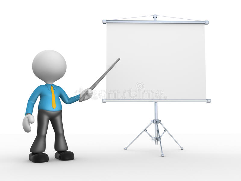 Бизнесмен иллюстрация вектора