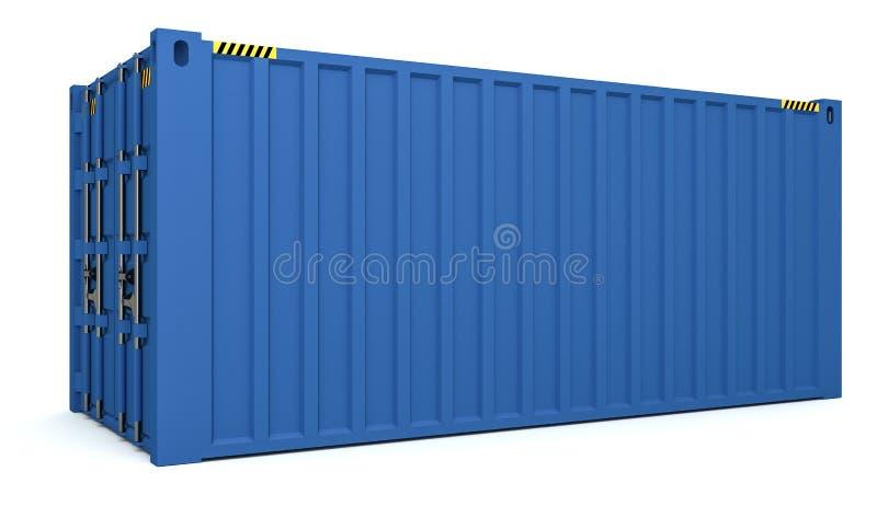 Download 3D货箱的例证在白色隔绝的 库存例证. 插画 包括有 空白, 金属, 后勤, 对象, 支架, 查出, 例证 - 72353042