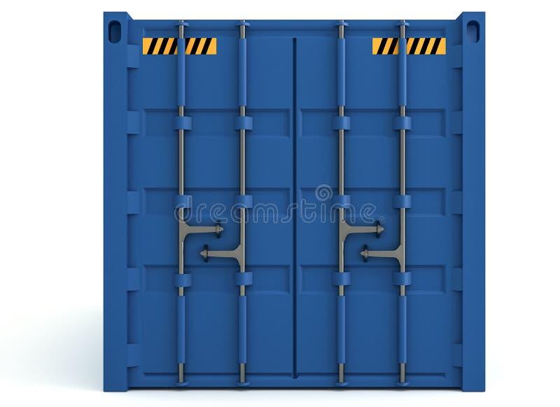 Download 3D货箱的例证在白色隔绝的 库存例证. 插画 包括有 货物, 查出, 后勤, 空白, 支架, 负荷, 回报 - 72353769