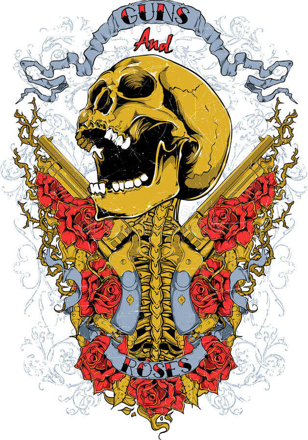 D'or illustration de vecteur