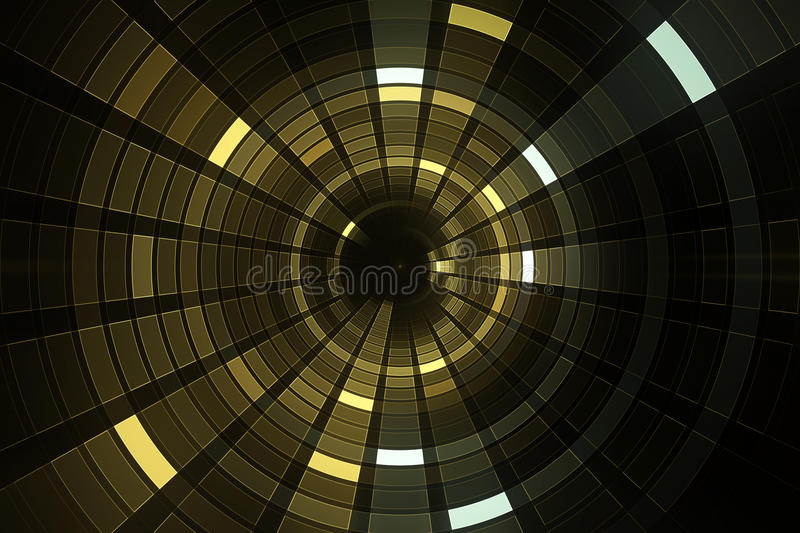 3D abstract science fiction futuristic background royalty free illustration