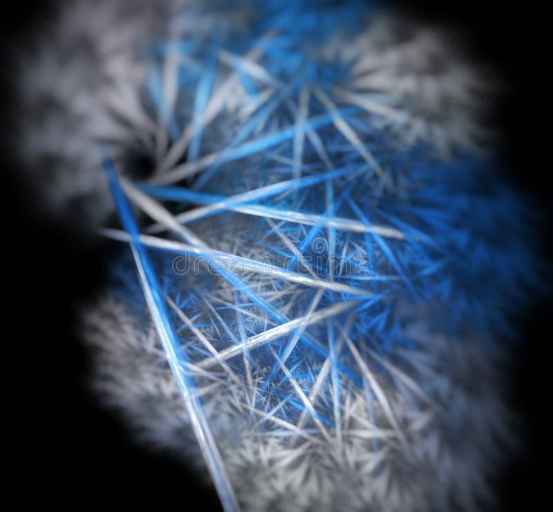 3d abstracte fractal illustratieachtergrond voor royalty-vrije stock foto's
