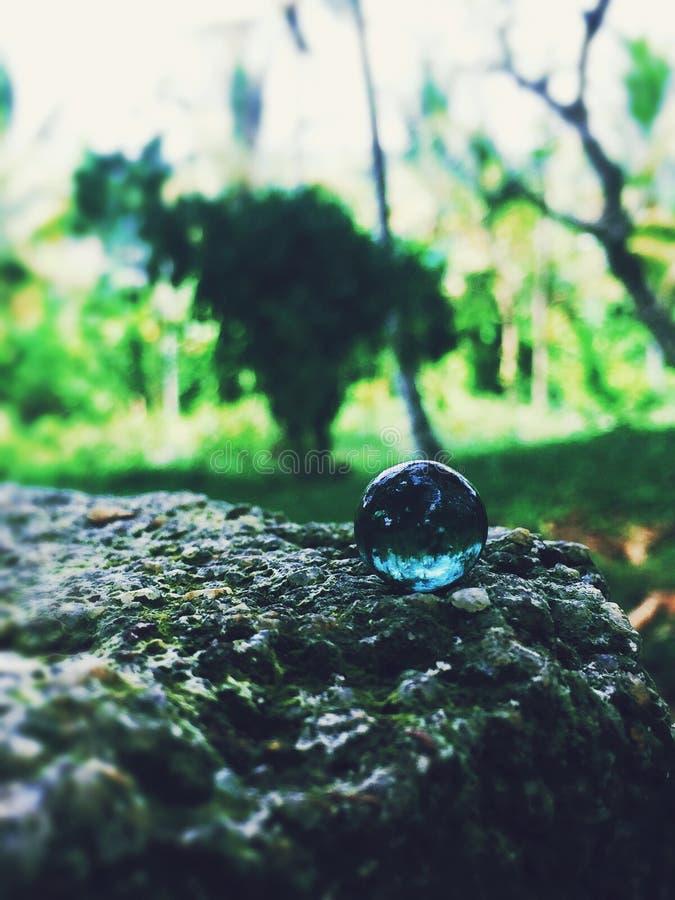 3d abstrakcjonistyczny tła piłki szkło obrazy royalty free