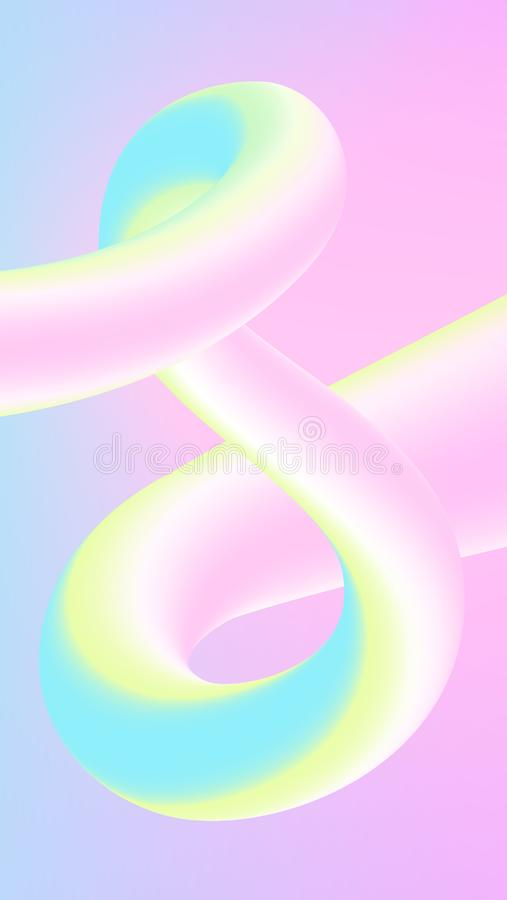 3d abstrakta t?o ilustracji