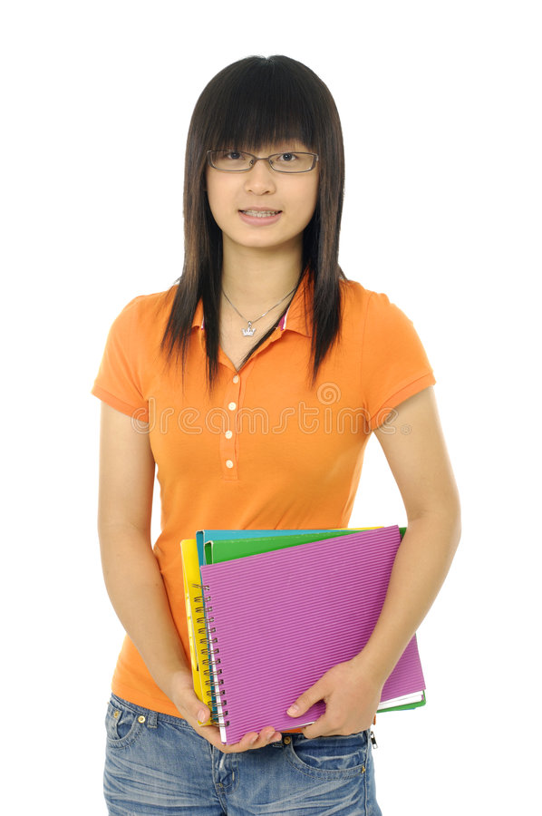 Download D'adolescent asiatique image stock. Image du classmates - 8670793