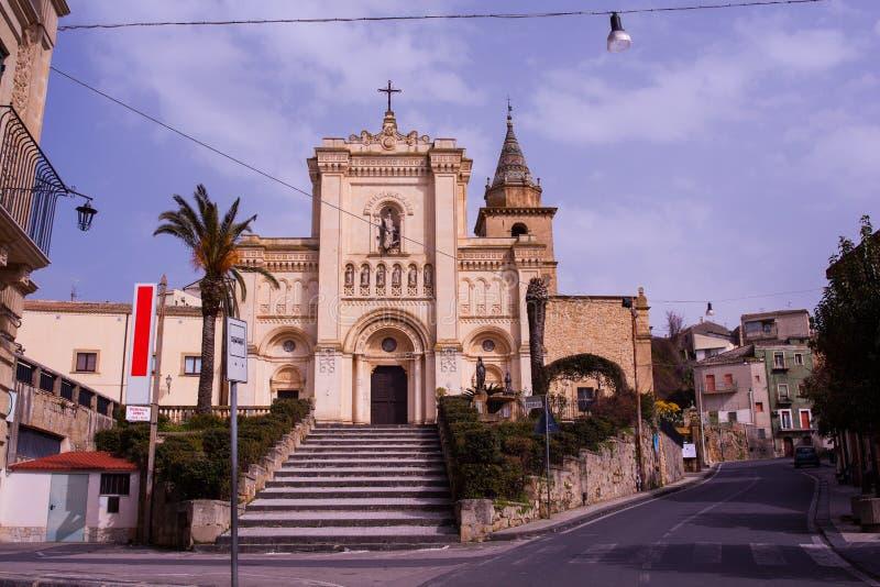 D'Agira de Chiesa Reale Abbazia di San Filippo photographie stock libre de droits