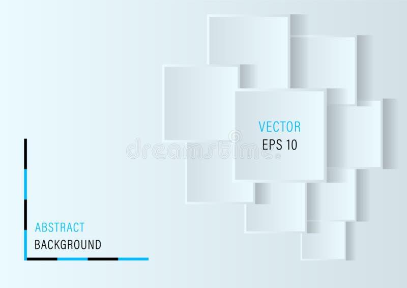 3D ajuste le fond abstrait illustration libre de droits