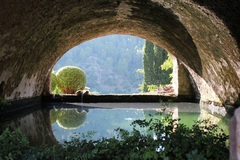 D'Alfabia Jardines стоковое изображение