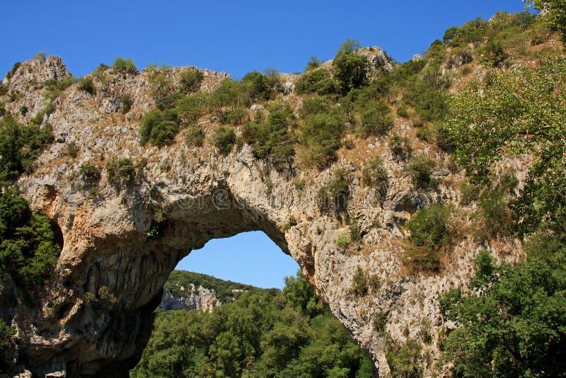 d'Arc de Vallon Pont imagenes de archivo