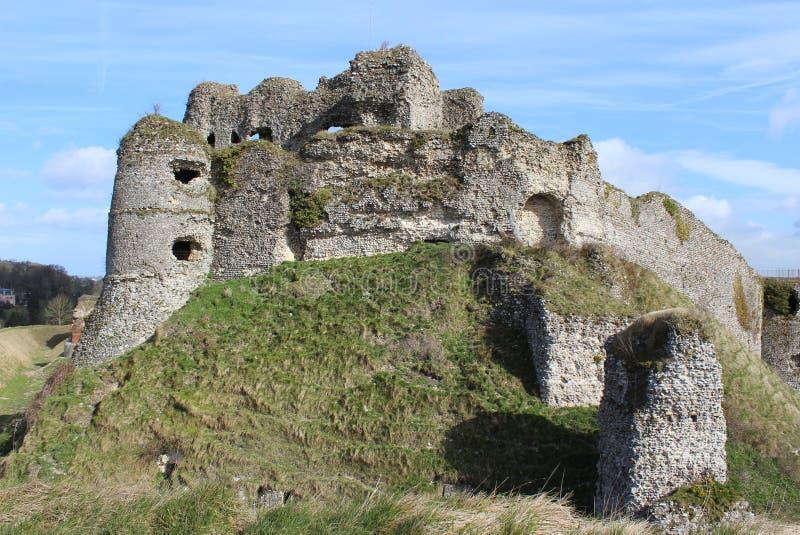 D'Arques-la-Bataille do castelo fotos de stock