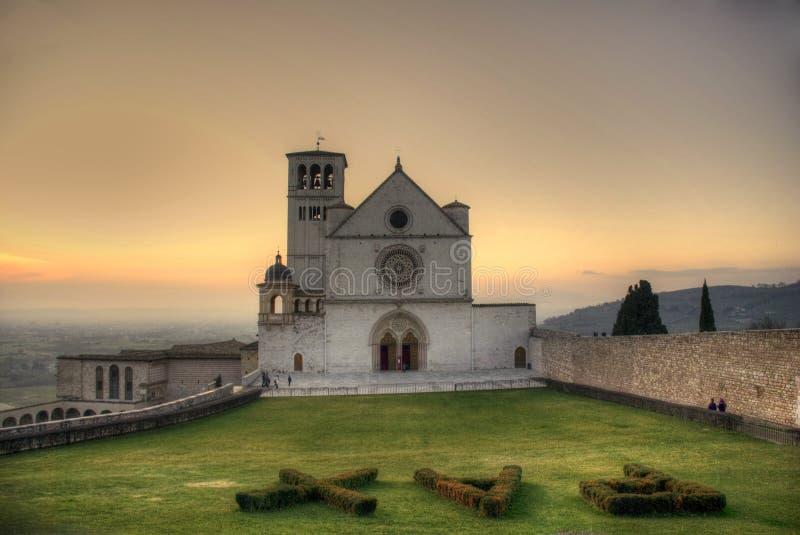 d'Assisi de Basilica di S. Francisco imagen de archivo