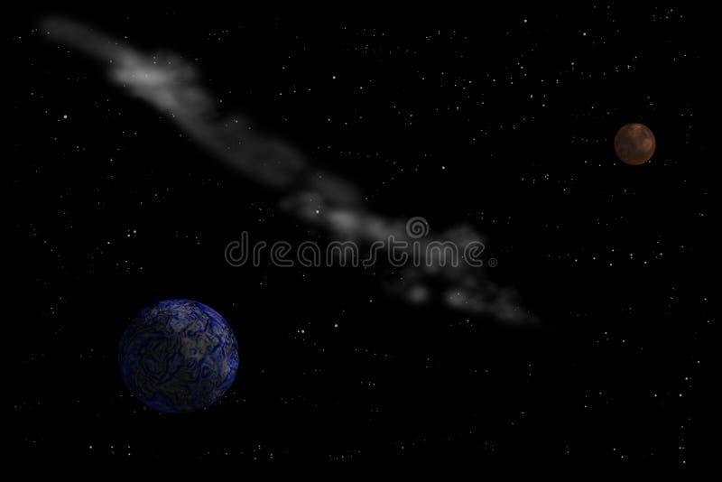 D'autres planètes en univers images libres de droits