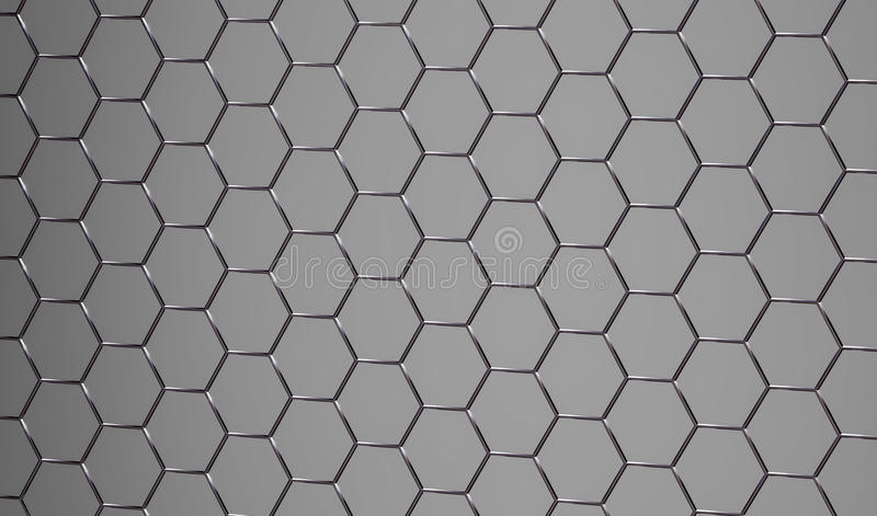 3D błyszczącego abstrakta popielata kruszcowa powierzchnia zdjęcia stock
