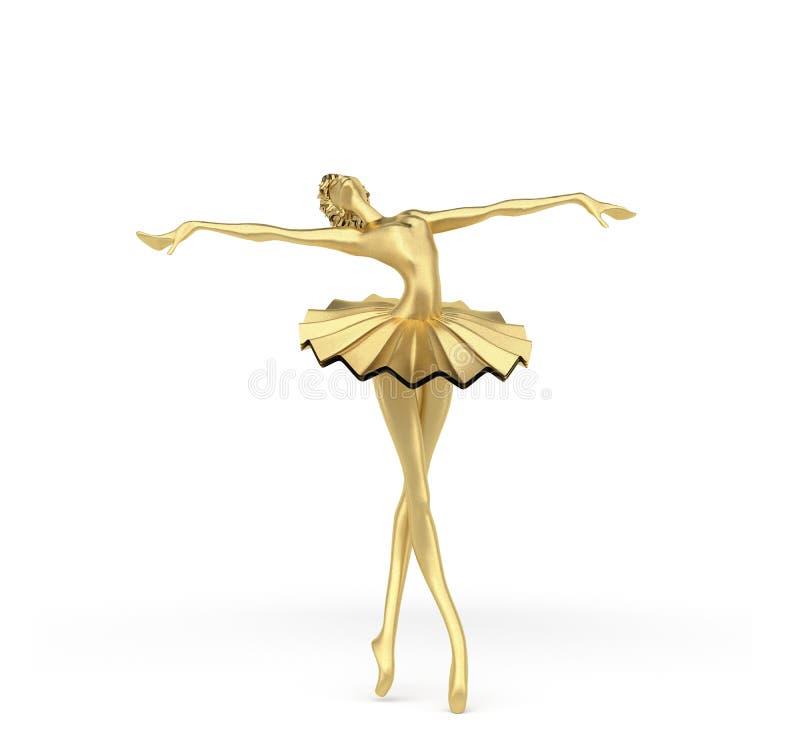 3d bailarina 2 fotografía de archivo