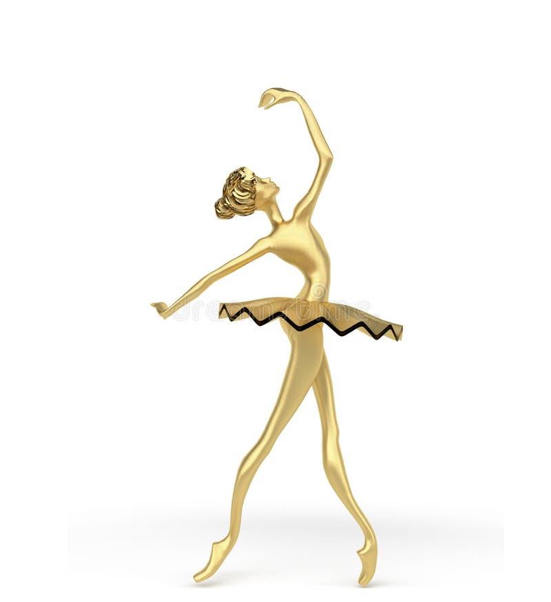 3d bailarina 2 foto de archivo