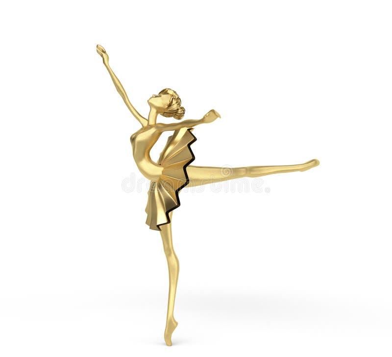 3d bailarina 3 foto de archivo