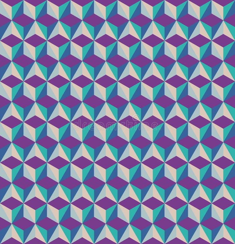 3D berechnet nahtlosen Musters stockbilder