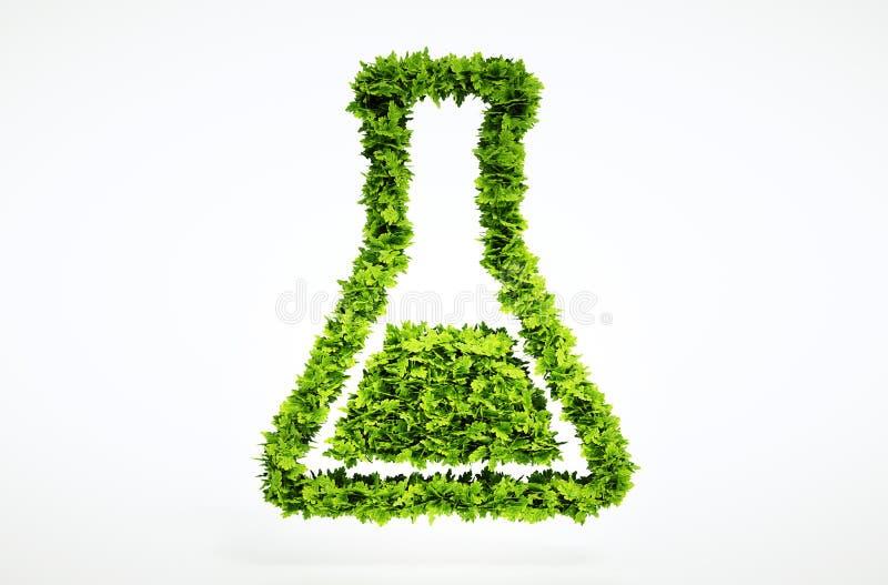 3d biowetenschapsteken stock illustratie