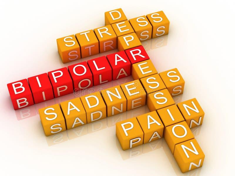 3d Bipolar Disorder Royalty Free Stock Image