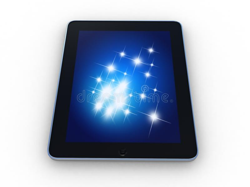 Download 3D Black Tablet Pc Royalty Free Stock Photography - Image: 33170177