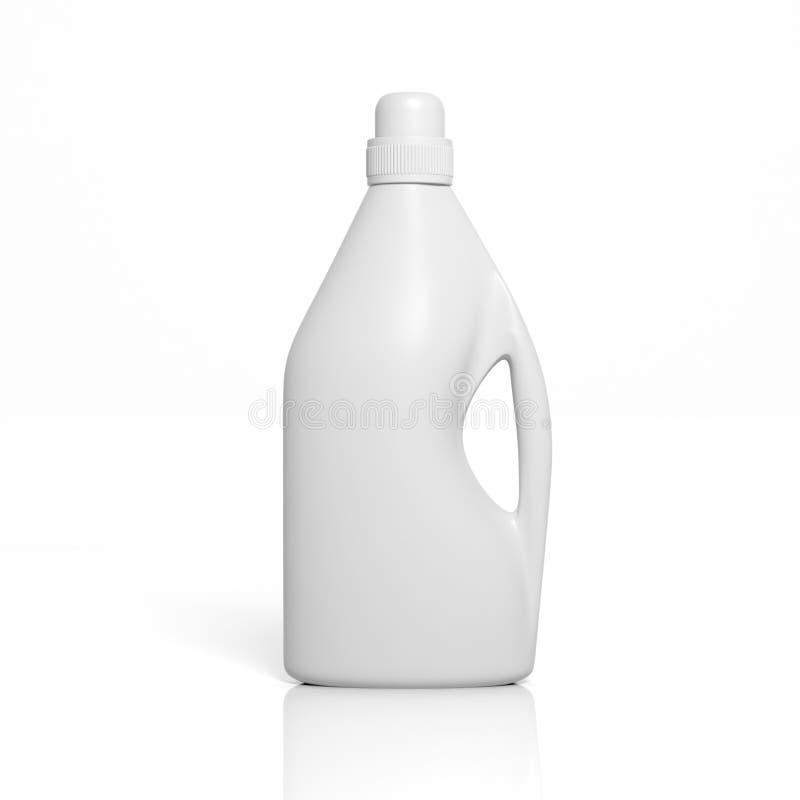 3D blank bottle stock illustration  Illustration of clean