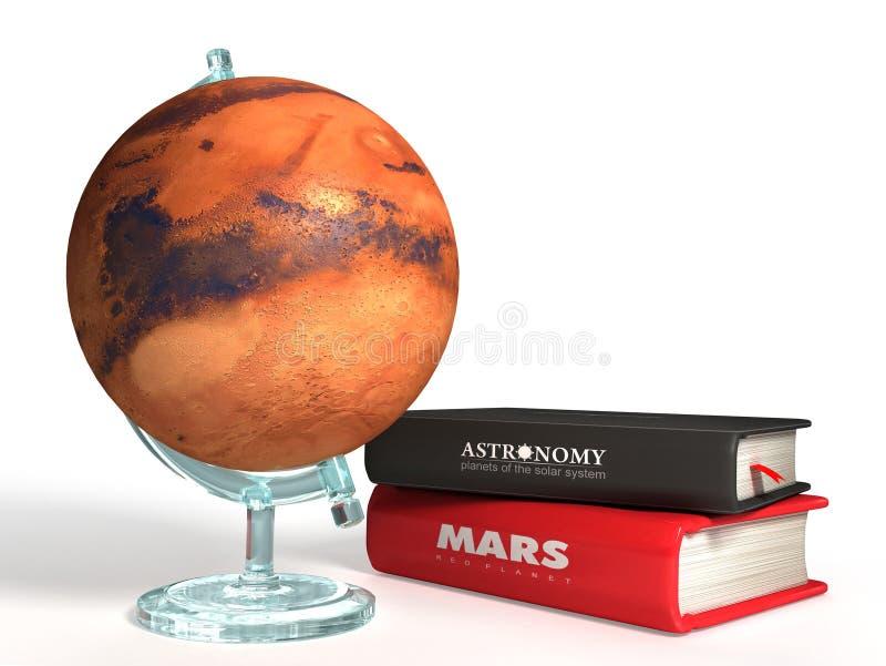 3D bol van Mars royalty-vrije illustratie
