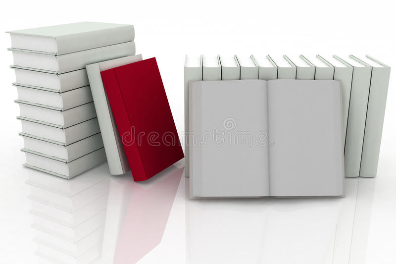 Download 3d Books Royalty Free Stock Photo - Image: 29765925