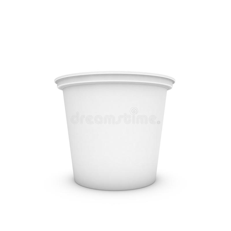 3d capacity. On a white background for advertising stock illustration
