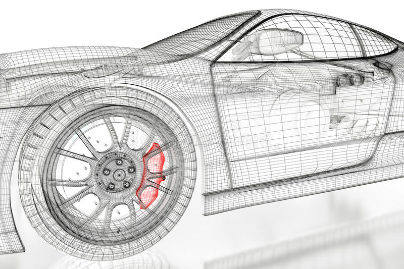 3d car mesh on a white stock illustration illustration of computer download 3d car mesh on a white stock illustration illustration of computer 89332979 malvernweather Image collections