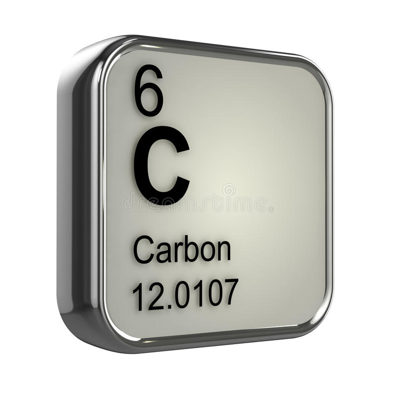 download 3d carbon element stock illustration illustration of scientist 39028897 - Periodic Table Carbon