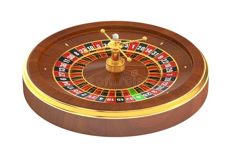3D Casino roulette vector illustration
