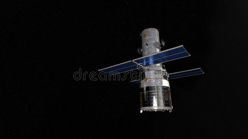 Artificial satellite stock photography