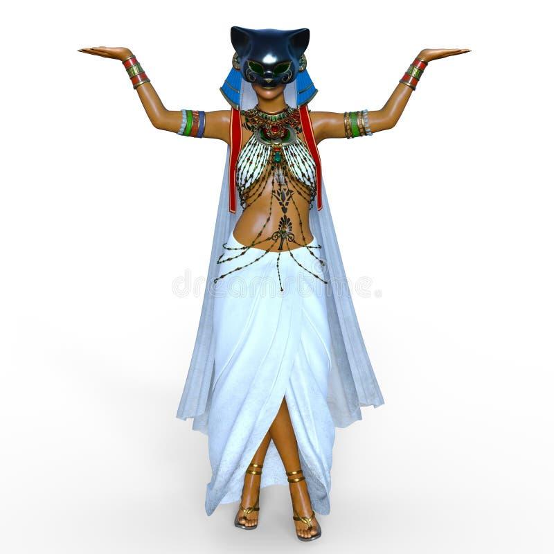 Belly dancer royalty free illustration