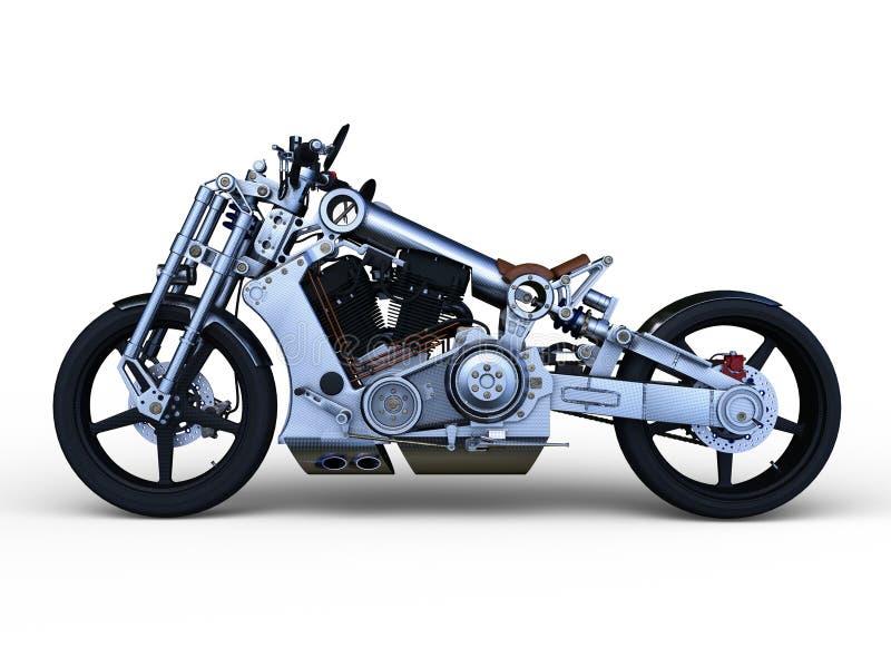 3D CG rendering of bike.  stock illustration