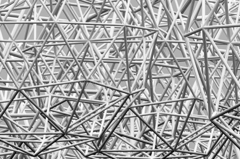 3d chaosu abstrakcjonistyczny tło royalty ilustracja