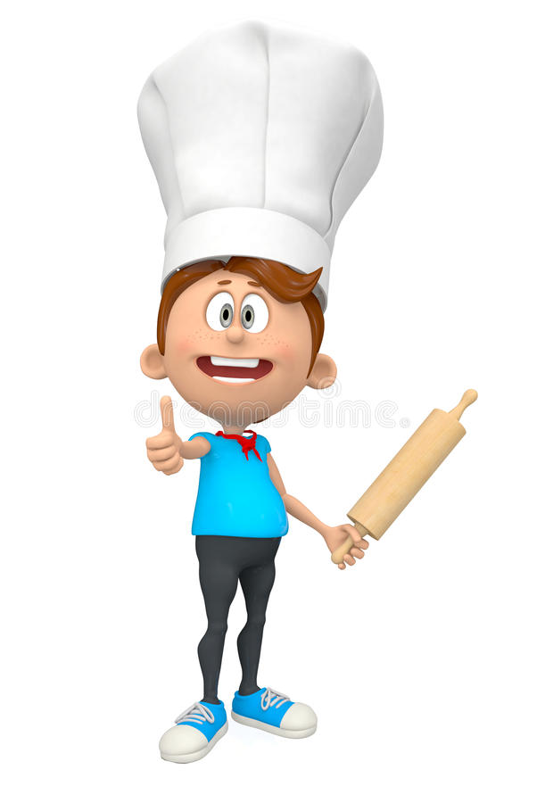 Download 3D chef stock illustration. Image of people, instrument - 33551797