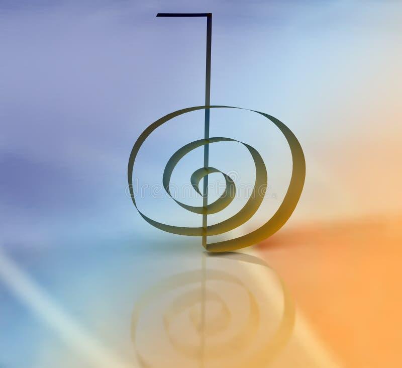 3D Cho Ku Reja symbol ilustracji