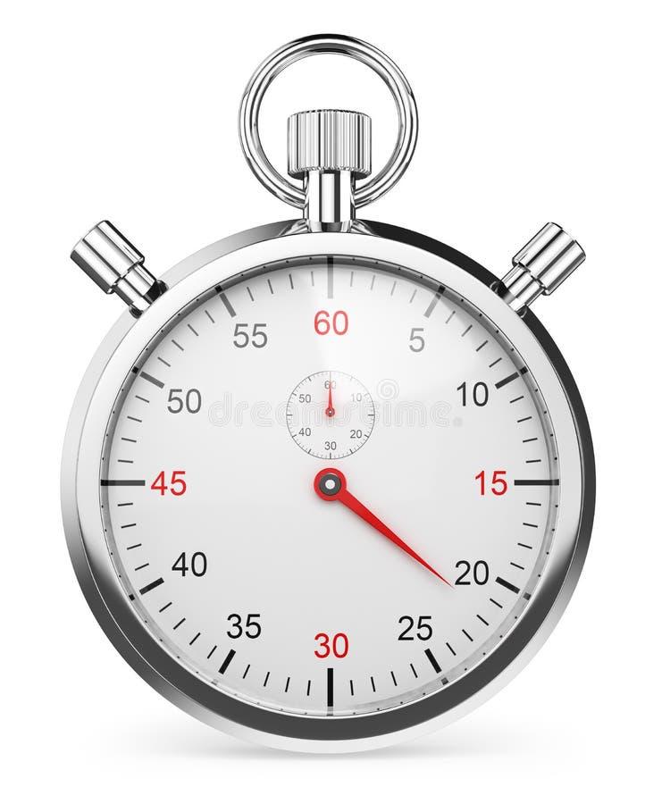3D Chronometer stock illustratie