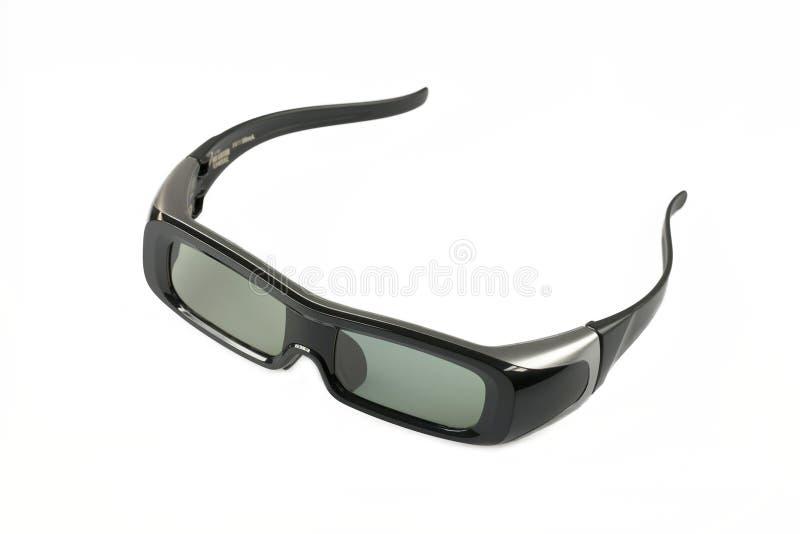 3D cinema glasses. stock images