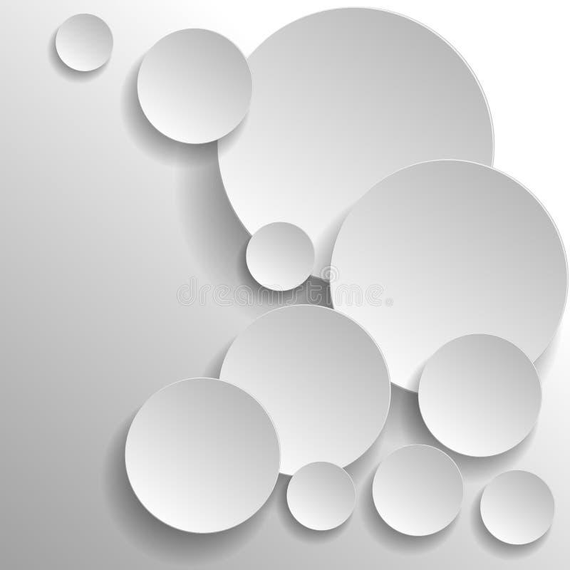 3d circles royalty free illustration