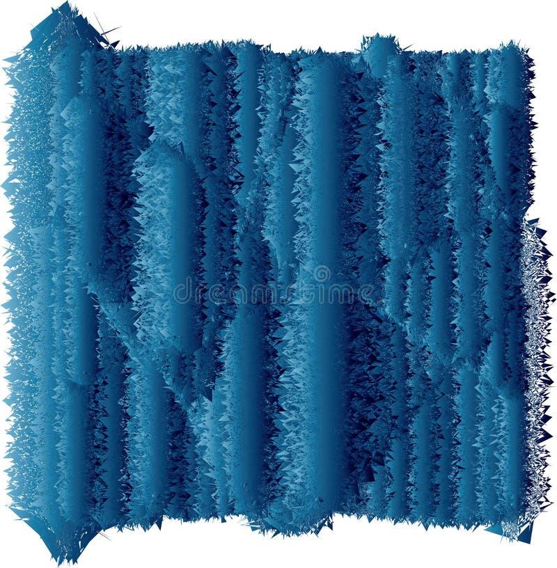 3D colros van vluetexturen royalty-vrije illustratie