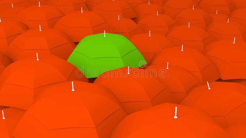 Download 3d Conceptually Unique, The Best In Green Royalty Free Stock Image - Image: 34798376